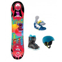 Kids Snowboard Rental Package